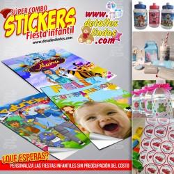 Stickers para Fiestas...