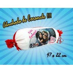 Almohada Caramelo 47x22cm