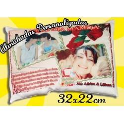 Almohada 32x22cm Personalizada